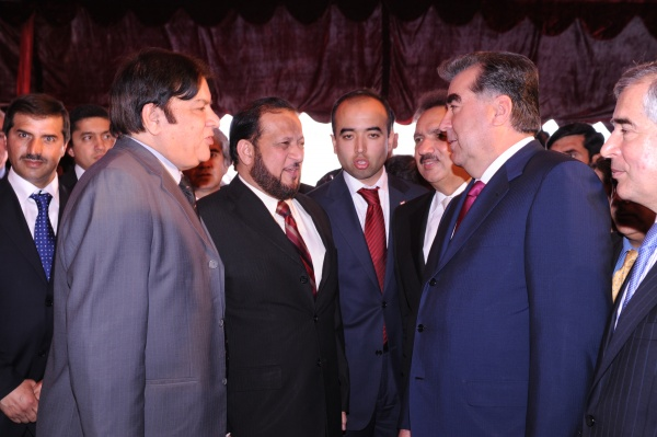 Tajikistan President with Abdul Rauf Tabani (Photo-2) On March-2011